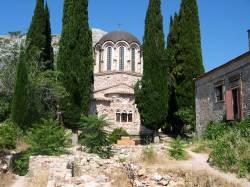nea moni, Het byzantijnse klooster in Griekenland