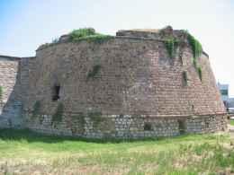 Overblijfselen van het kasteel